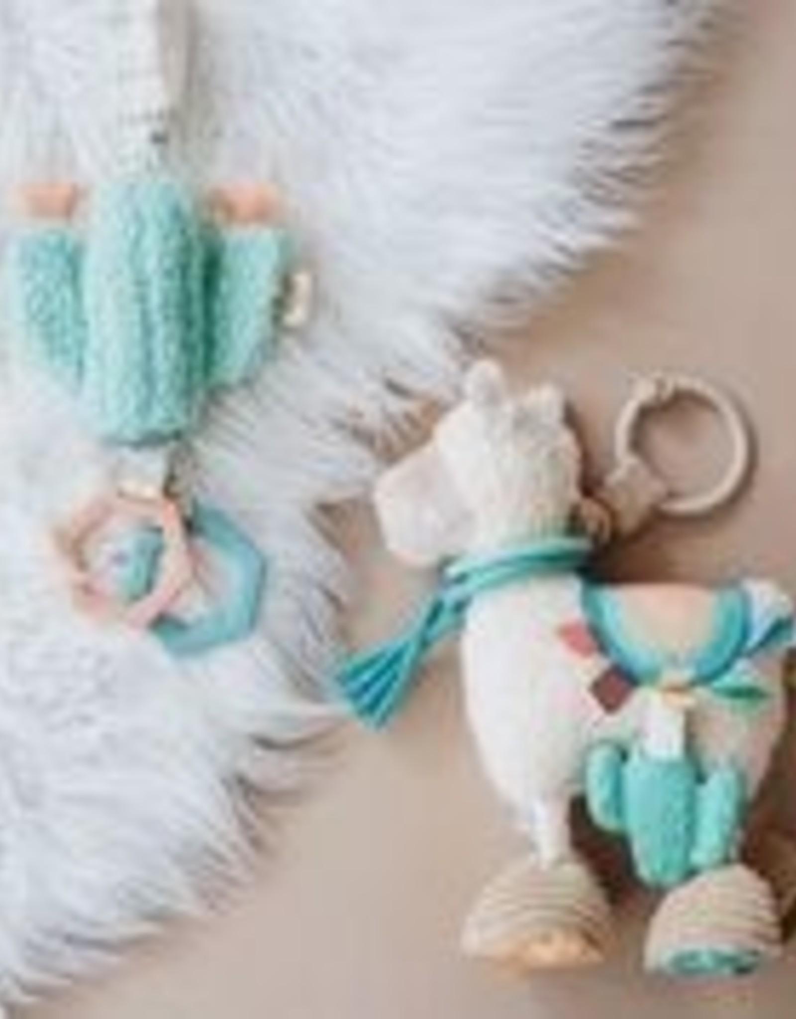 Itzy Ritzy Link & Love Llama Activity Plush Silicone Teether