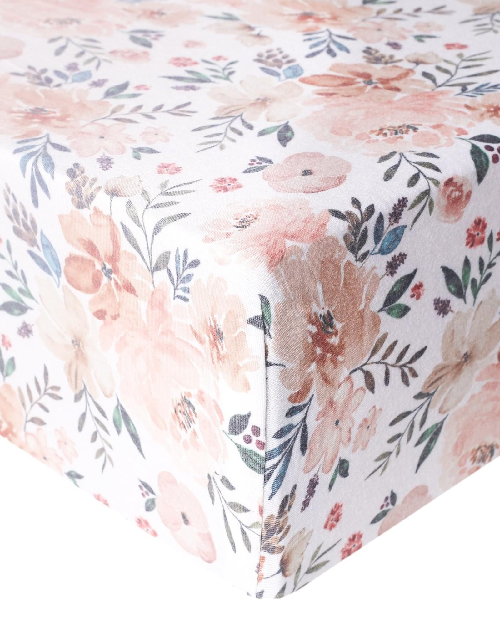 Copper Pearl Autumn Premium Crib Sheet Copper Pearl