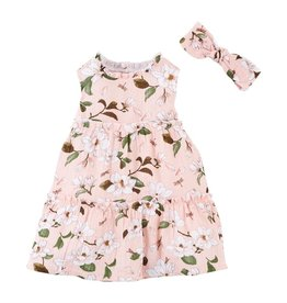 Mud Pie Magnolia Dress w/ Headband