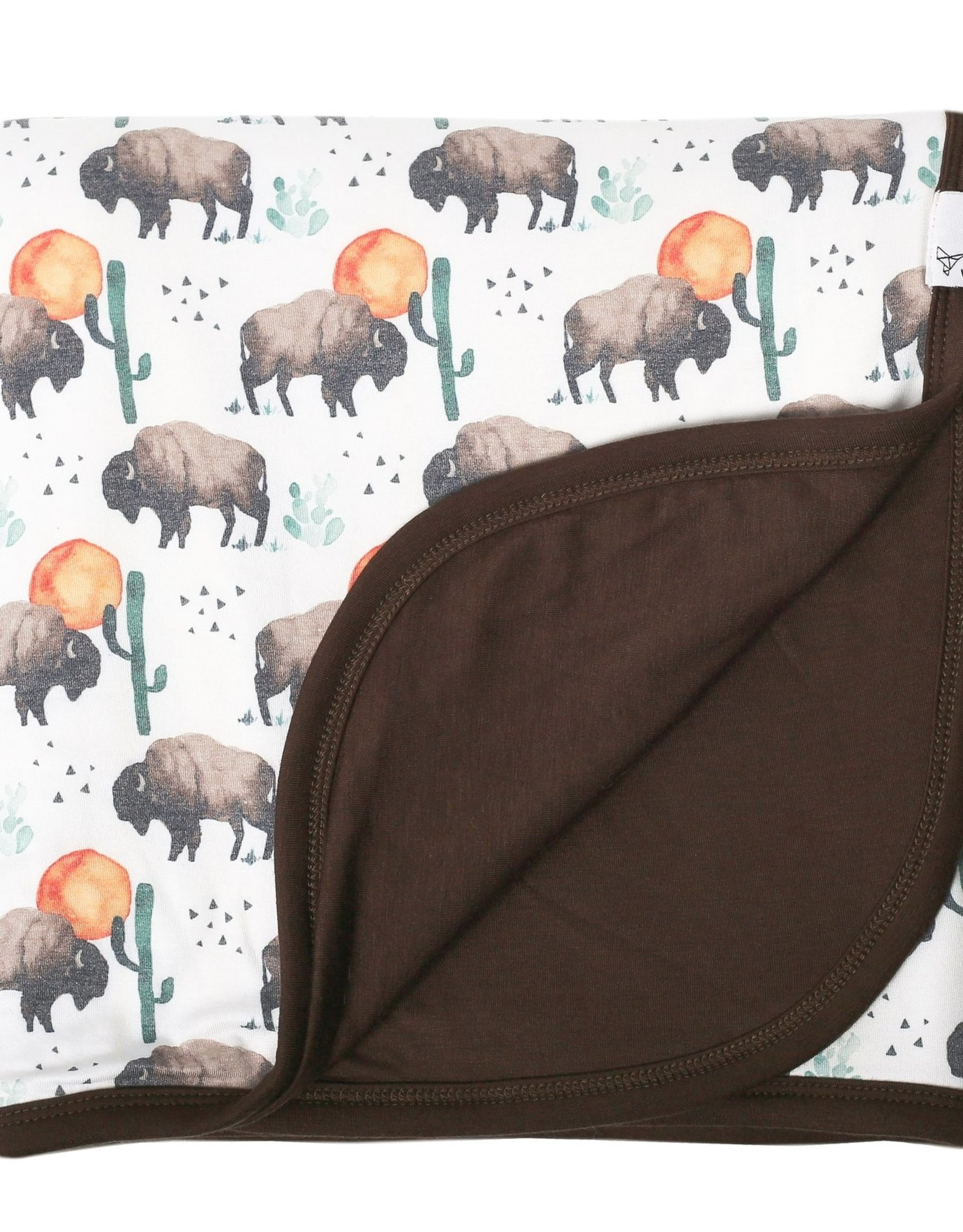 Copper Pearl Bison 3 Layer Quilt Copper Pearl