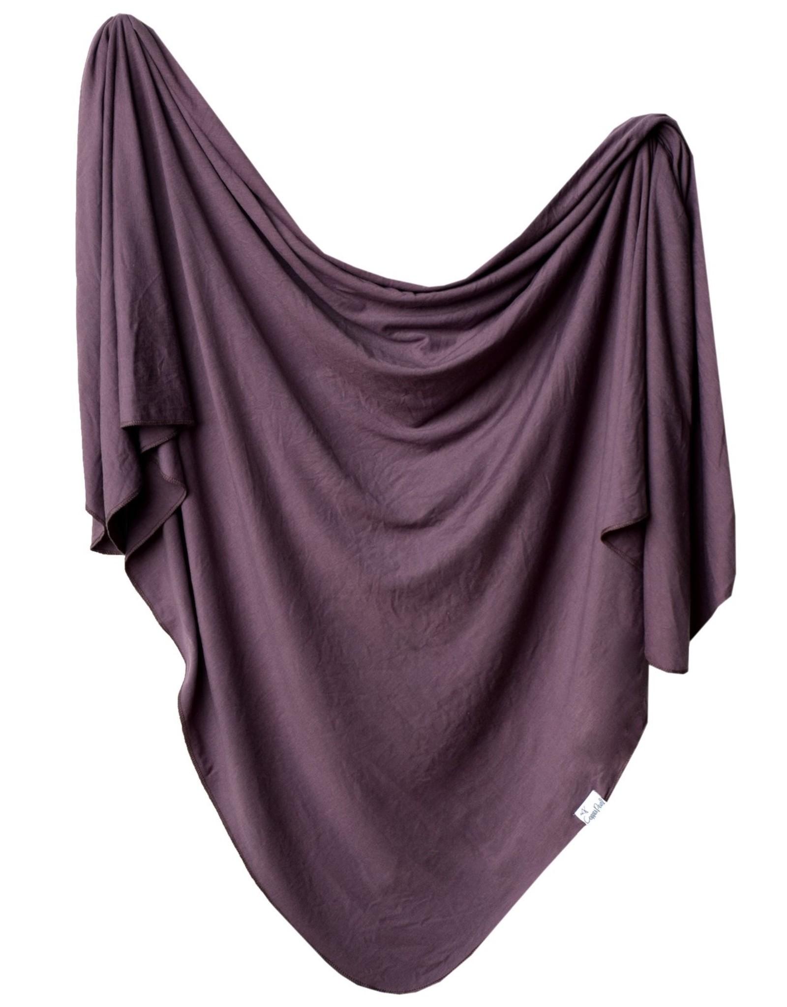 Copper Pearl Plum Swaddle Blanket Copper Pearl