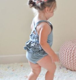 Dusty Blue Romper 18-24 months