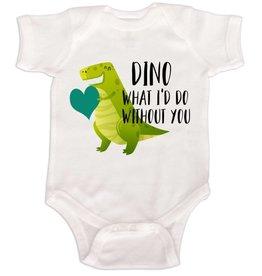 Dinosaur Love Onesie