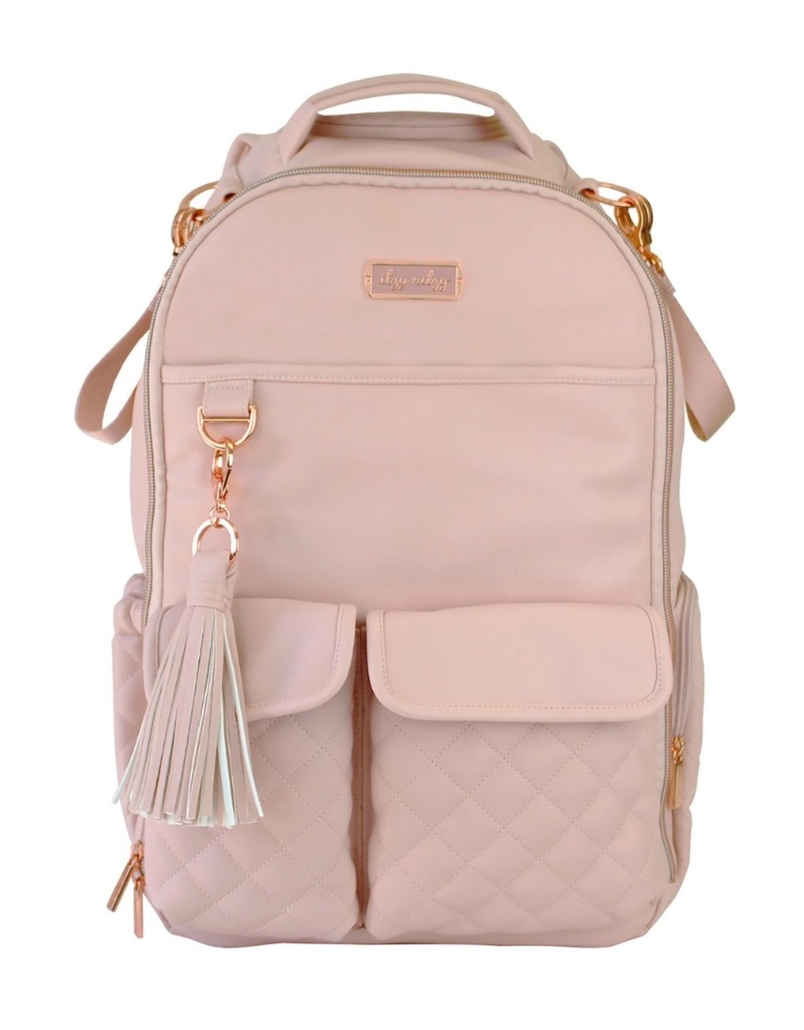 Itzy Ritzy Blush Crush Boss Backpack Diaper Bag