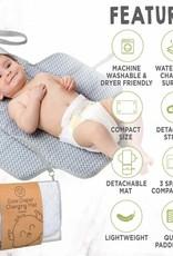 Ezee Diaper Mat - Gray Mod