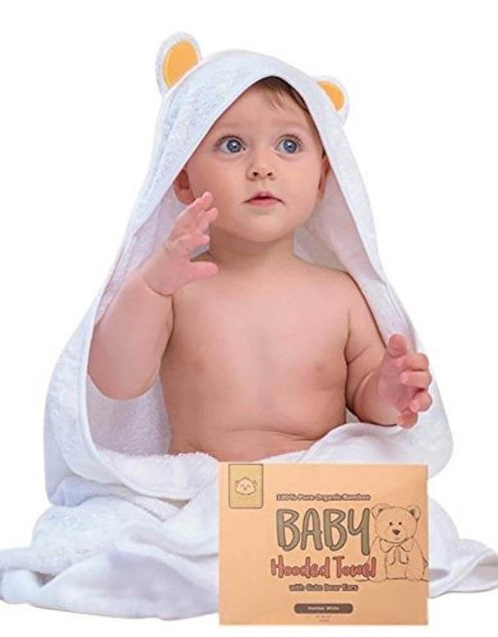 Hooded Towel  Organic Bamboo