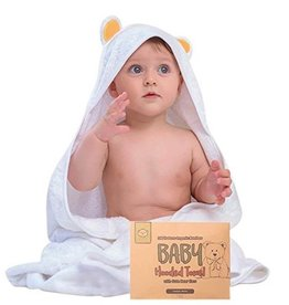 Hooded Towel  Organic Bamboo