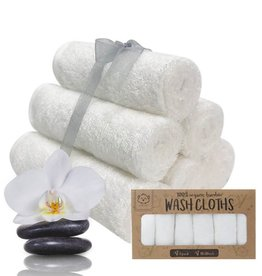 Wash Cloths  Organic Bamboo