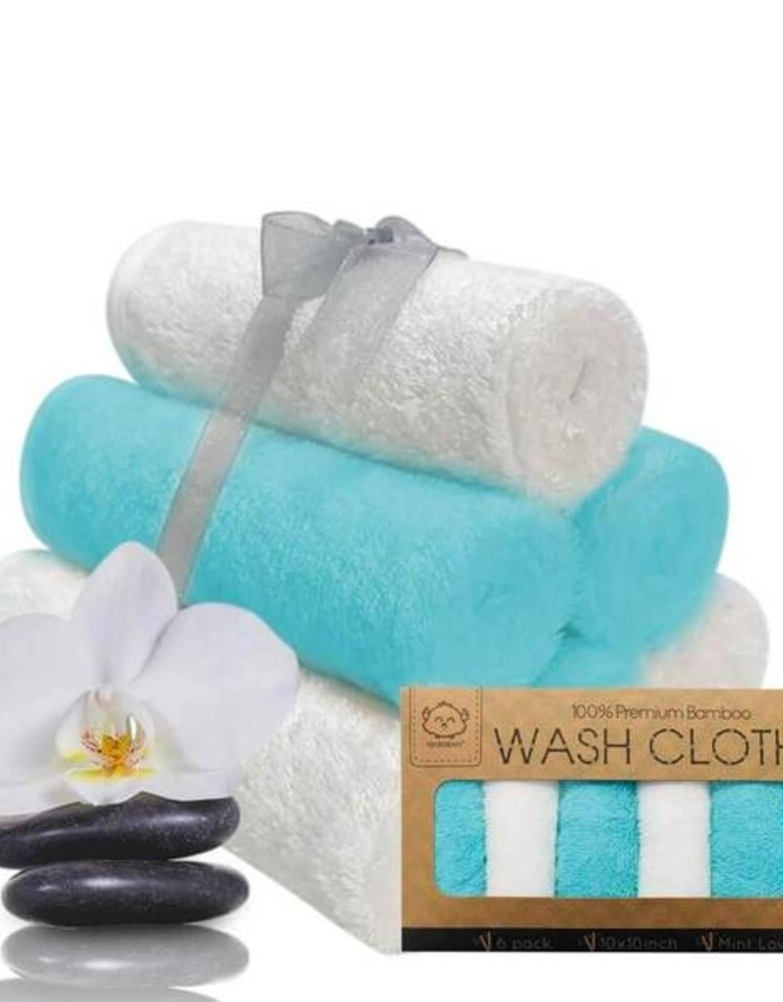 Wash Cloths  Organic Bamboo