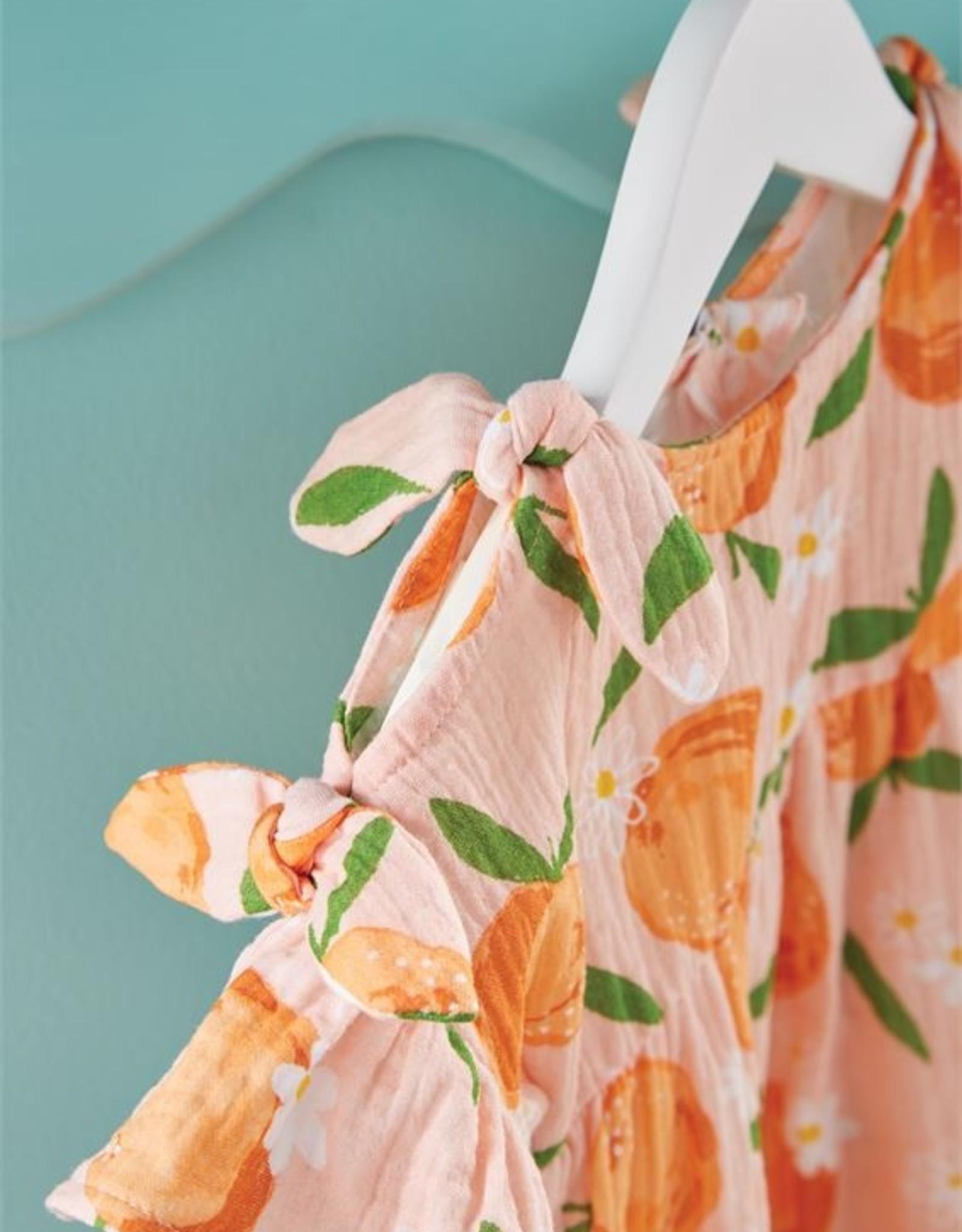 Mud Pie Orange Bow Dress - Toddler