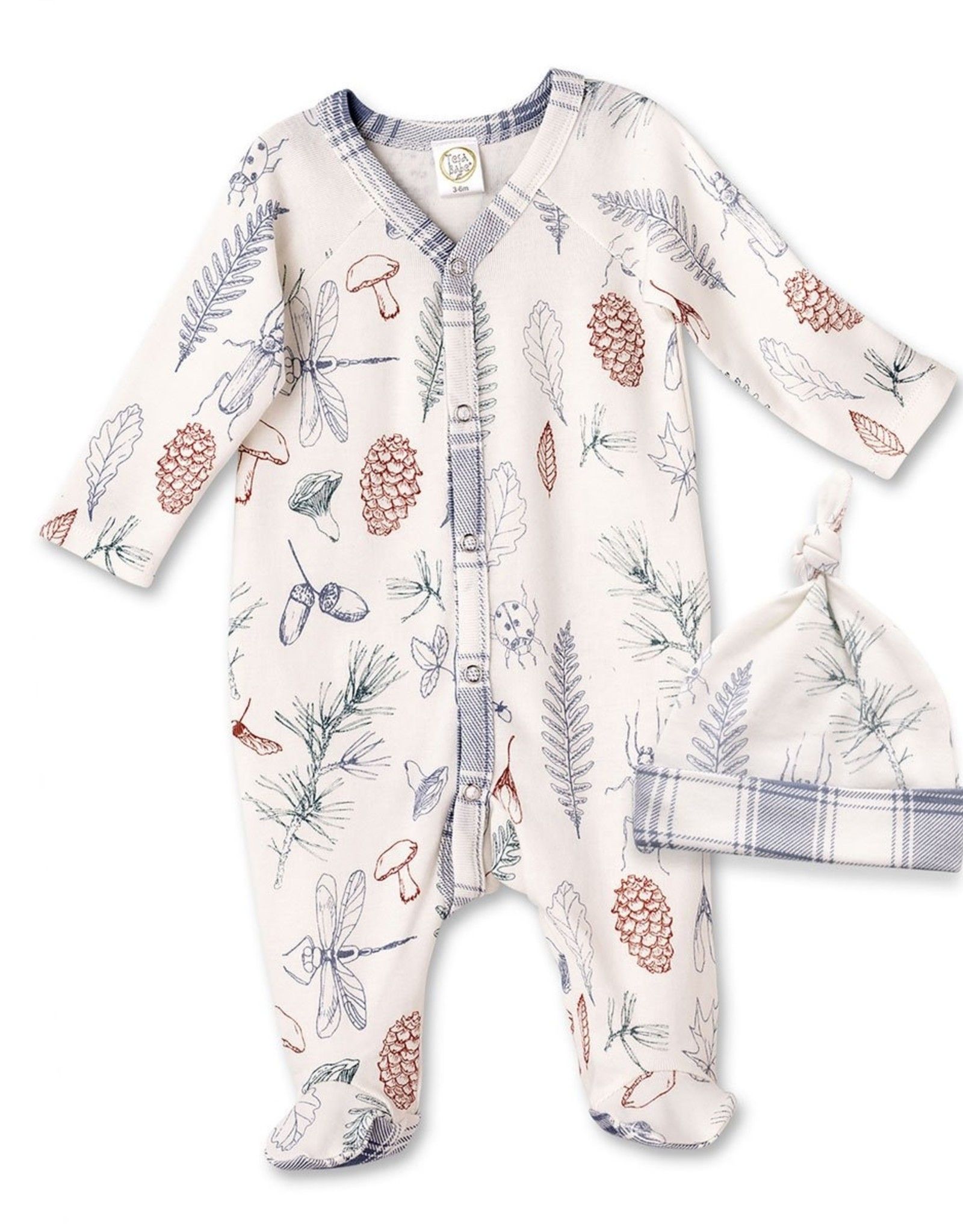Nature Footed Romper & Hat