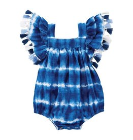 Mud Pie Tie Dye Bubble Romper