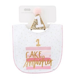 Mud Pie Girl Birthday Cake Smasher Set