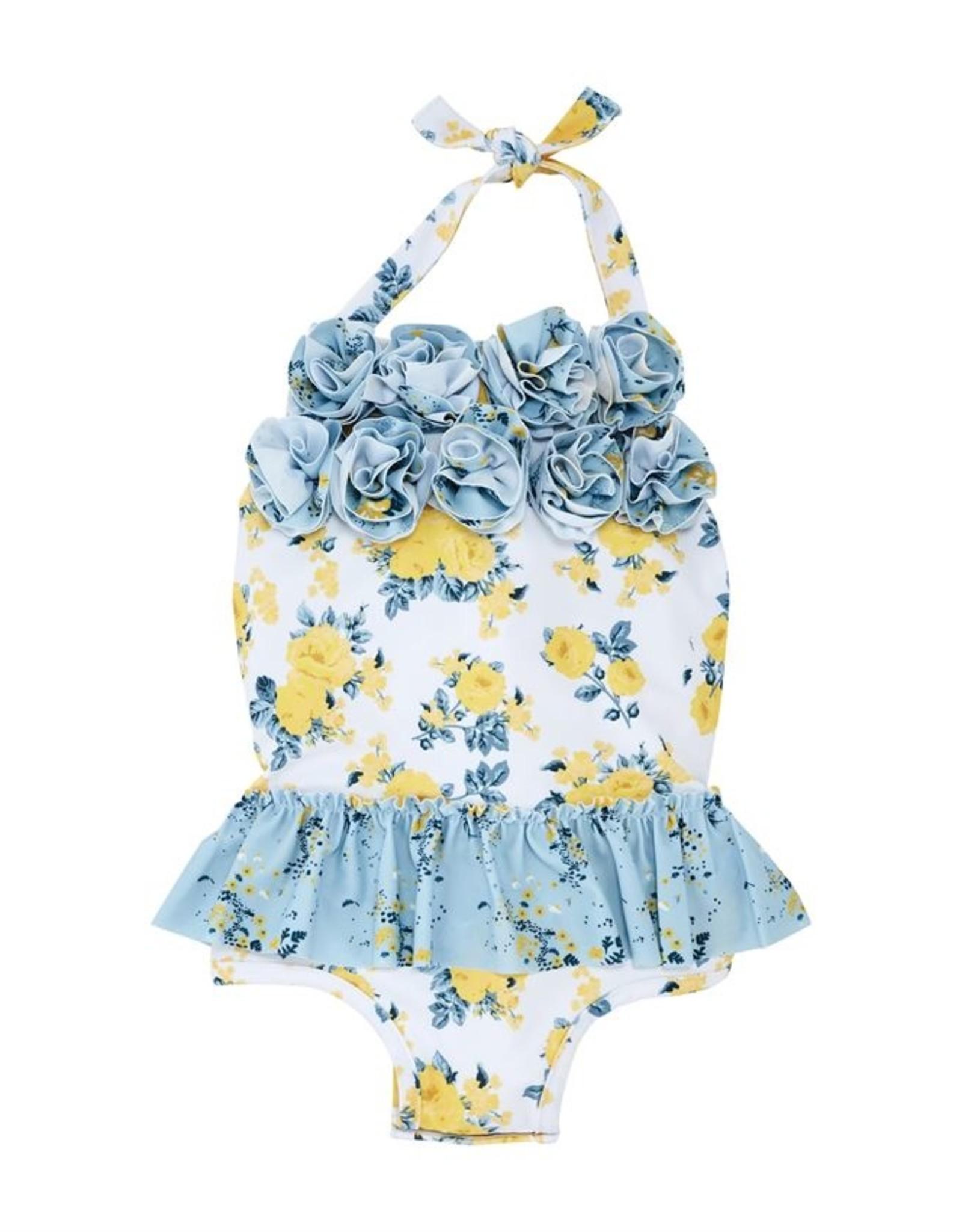 Mud Pie Floral 1 pc Swimsuit