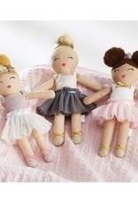 Mud Pie Ballerina Doll Rattle