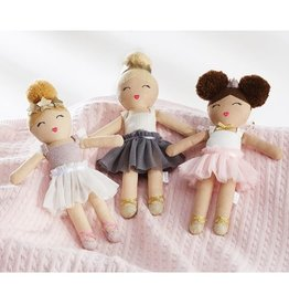 Mud Pie Ballerina Doll Rattle