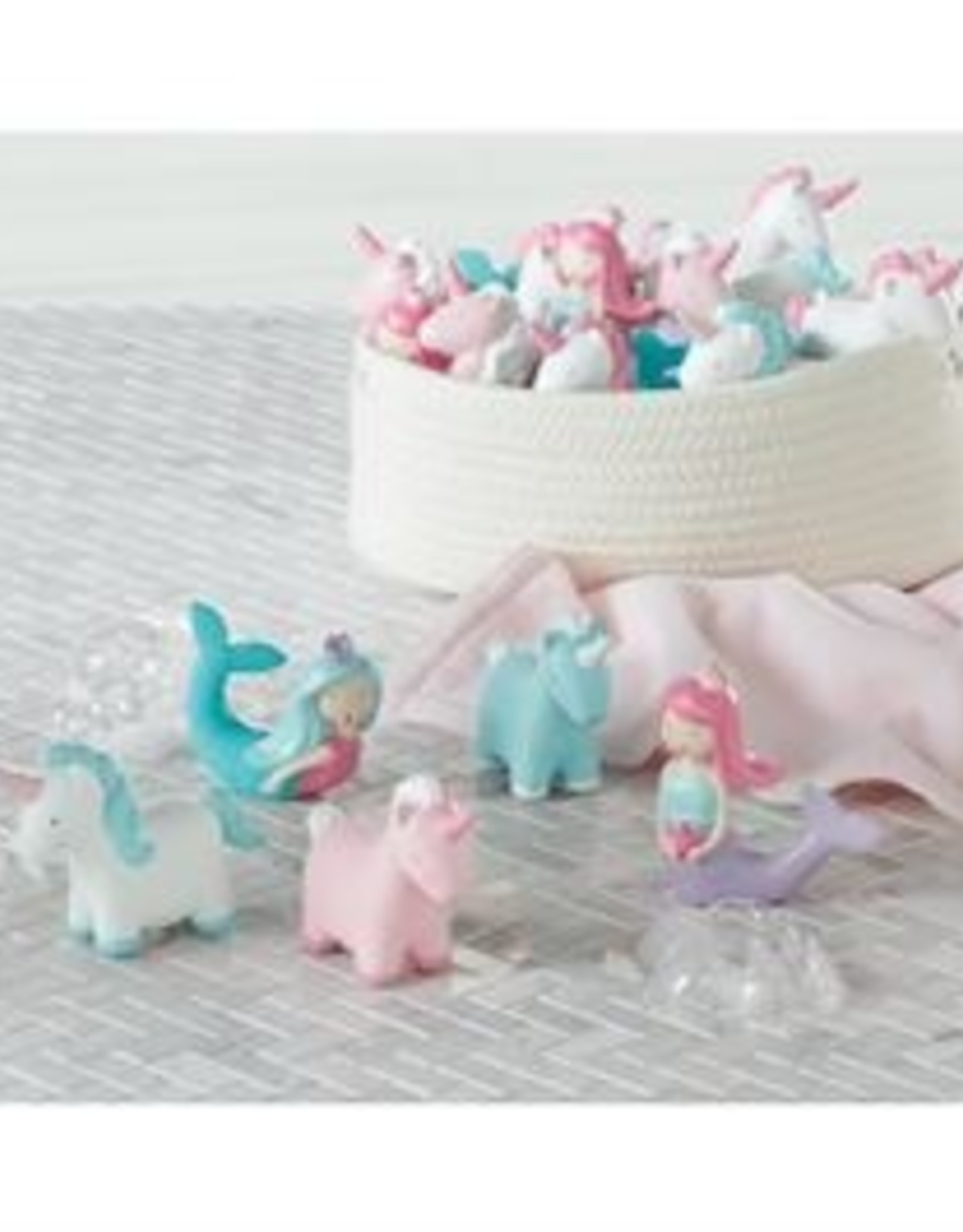 Mud Pie Mermaid & Unicorn Bath Toy