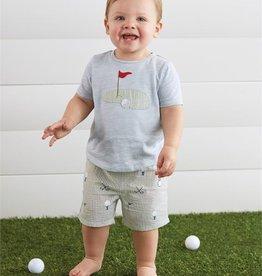 Mud Pie Golf Short Set 12-18 months
