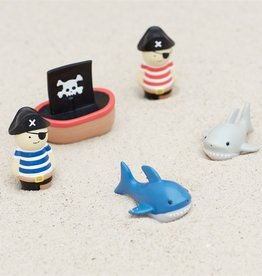 Mud Pie Pirate, Ship & Shark Bath Toy