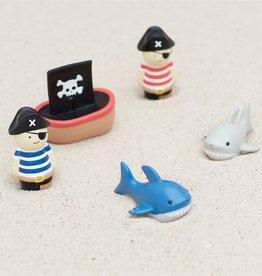 Mud Pie Pirate, Ship & Shark Bath Toy