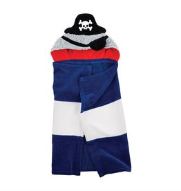 Mud Pie Pirate Hooded Baby Bath Towel