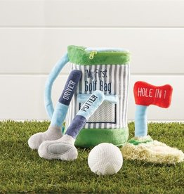 Mud Pie My Golf Bag Plush Set