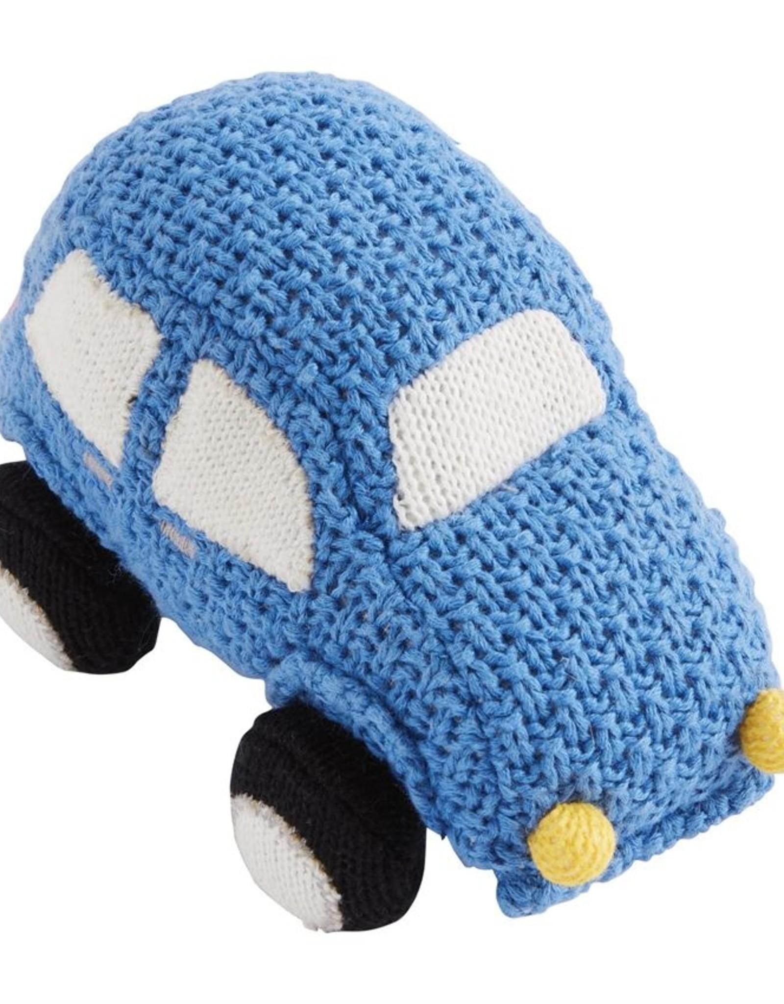 Mud Pie Transportation Knit Rattles