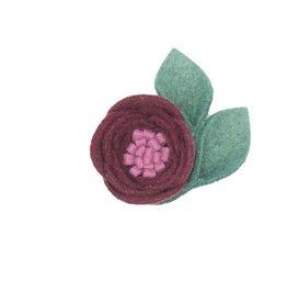 Felt Single Bloom Flower Clip