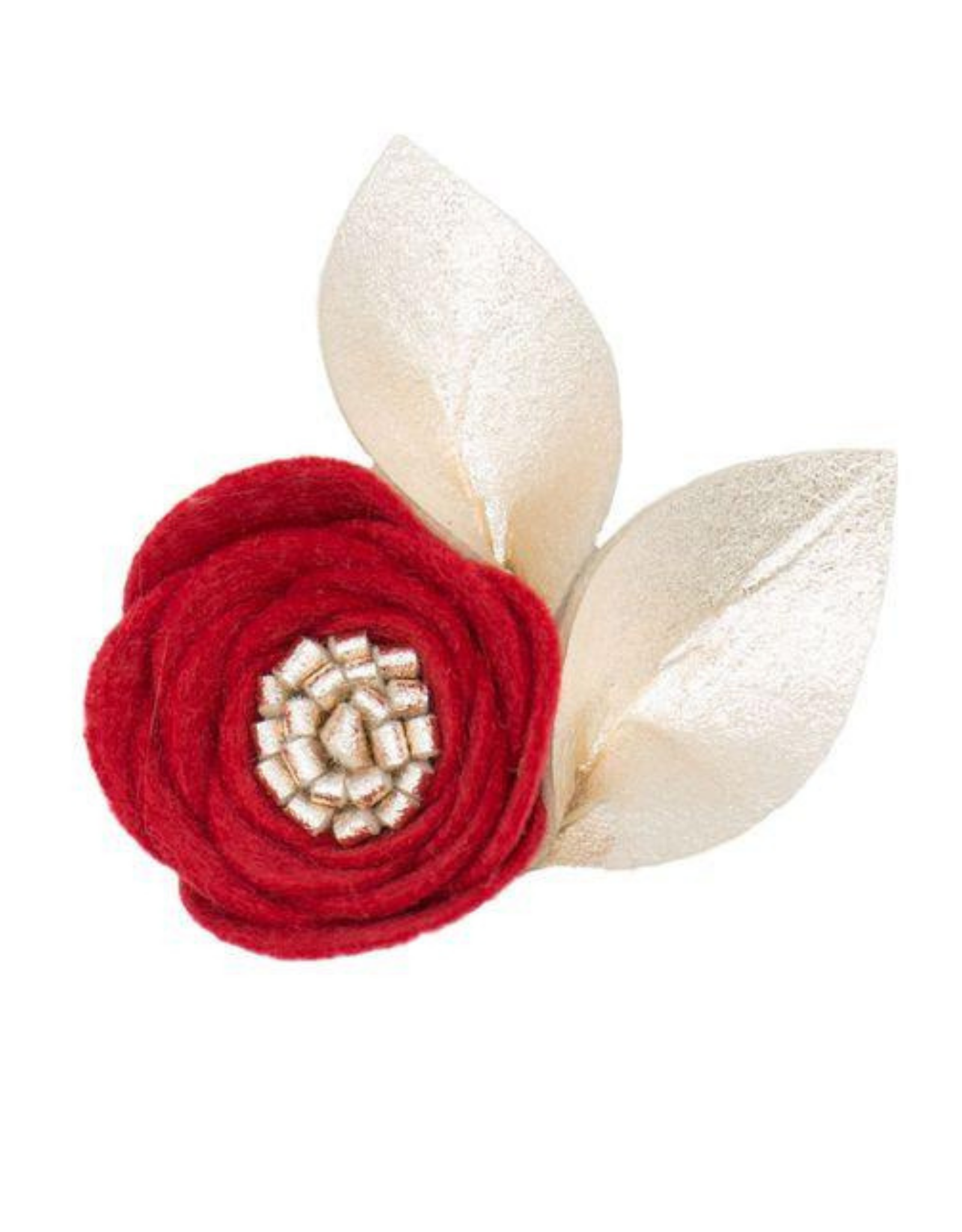 Felt Single Bloom Flower Clip