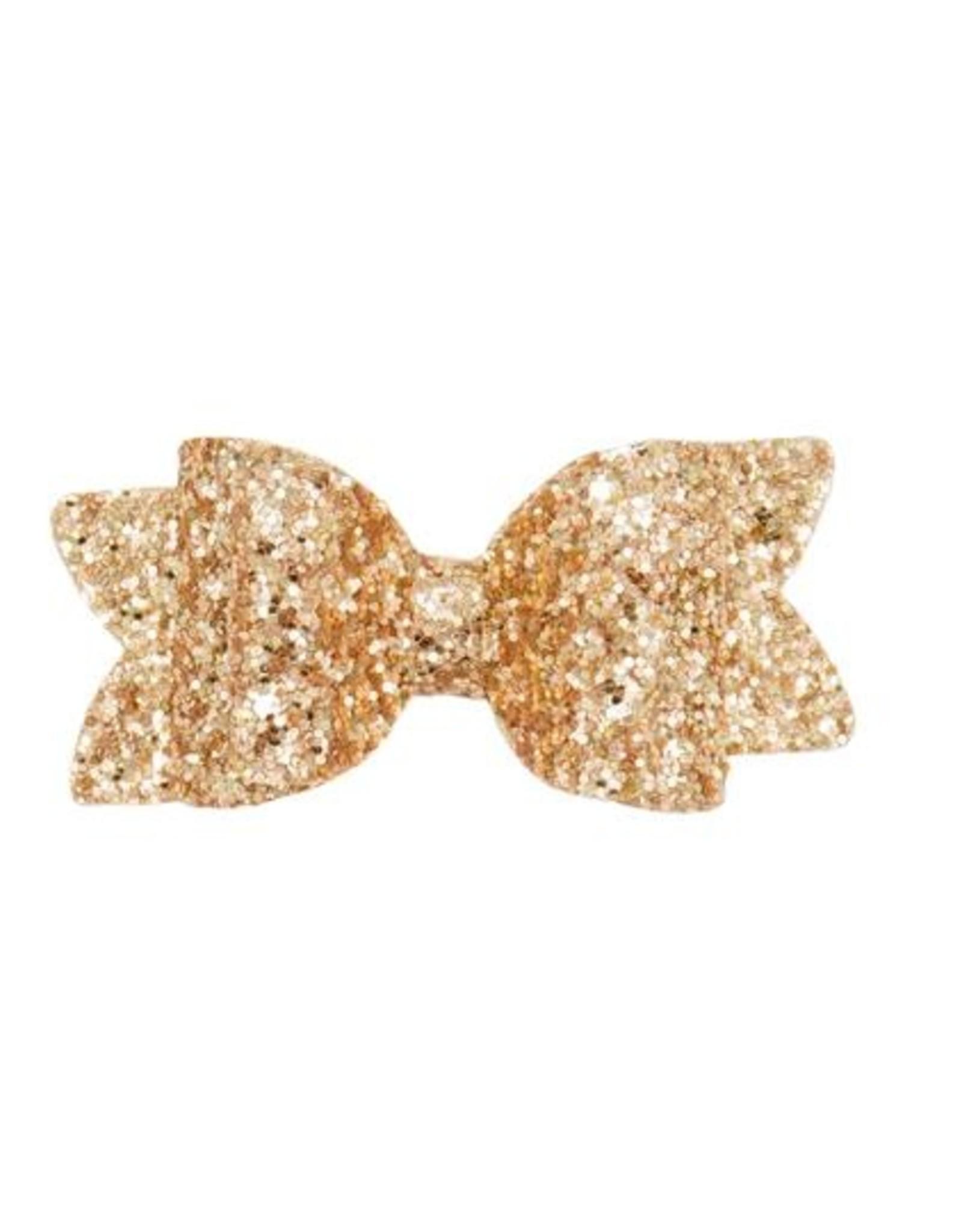 Glitter Bow Hair Clip