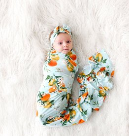 Posh Peanut Mirabella Swaddle & Headband Set