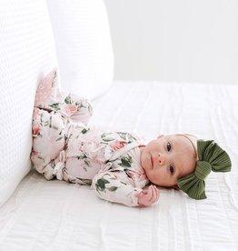 Posh Peanut Vintage Pink Rose Kimono Set 0-3 mos.