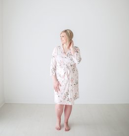 Posh Peanut Mommy Robe - Vintage Pink Rose