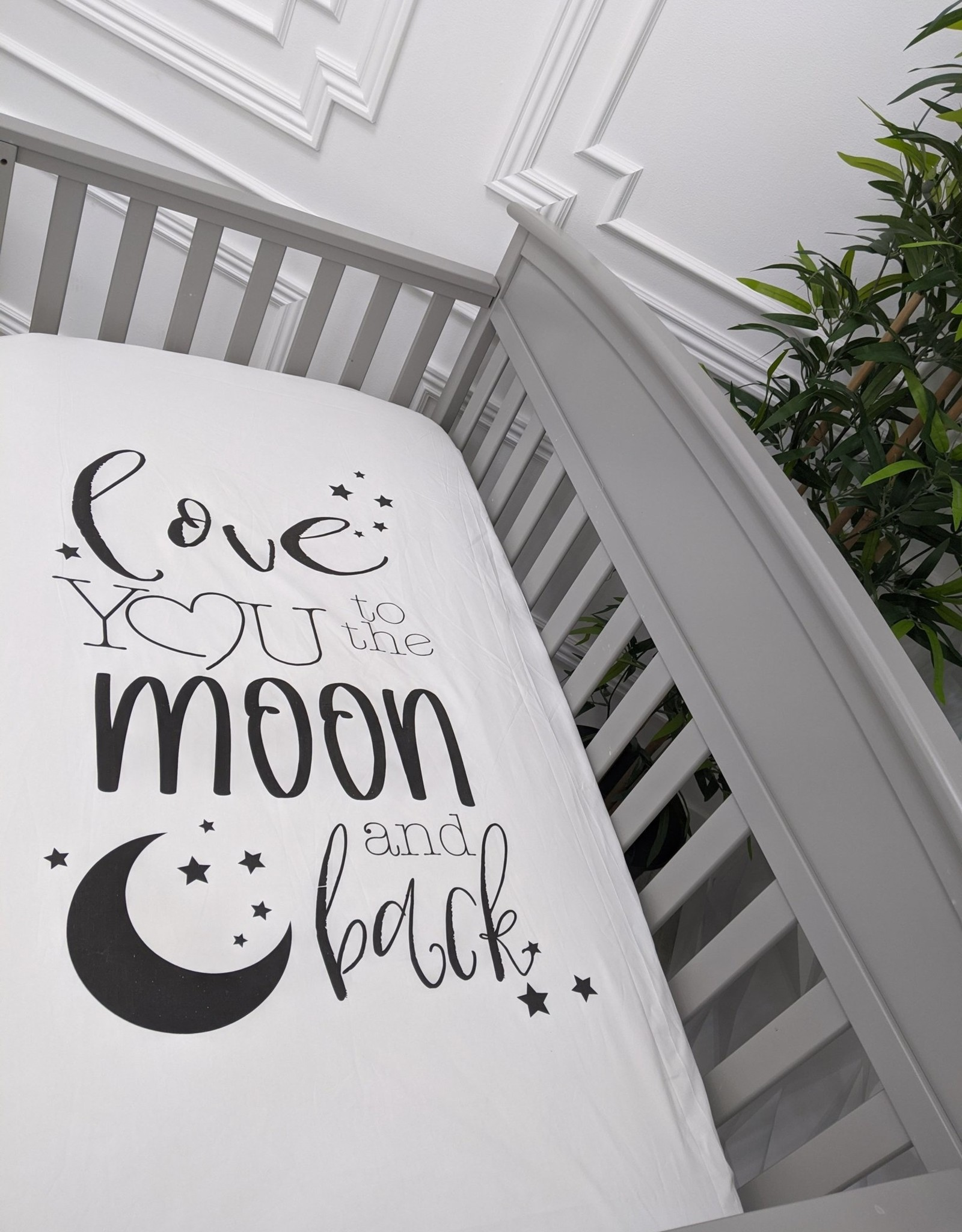Crib Sheet Love You To The Moon