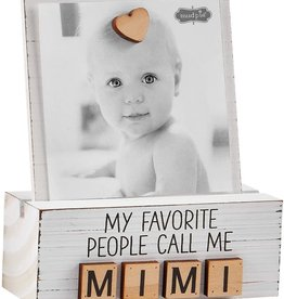 Mud Pie Mimi Letter Photo Block