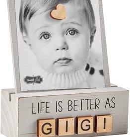 Mud Pie Gigi Letter Photo Block
