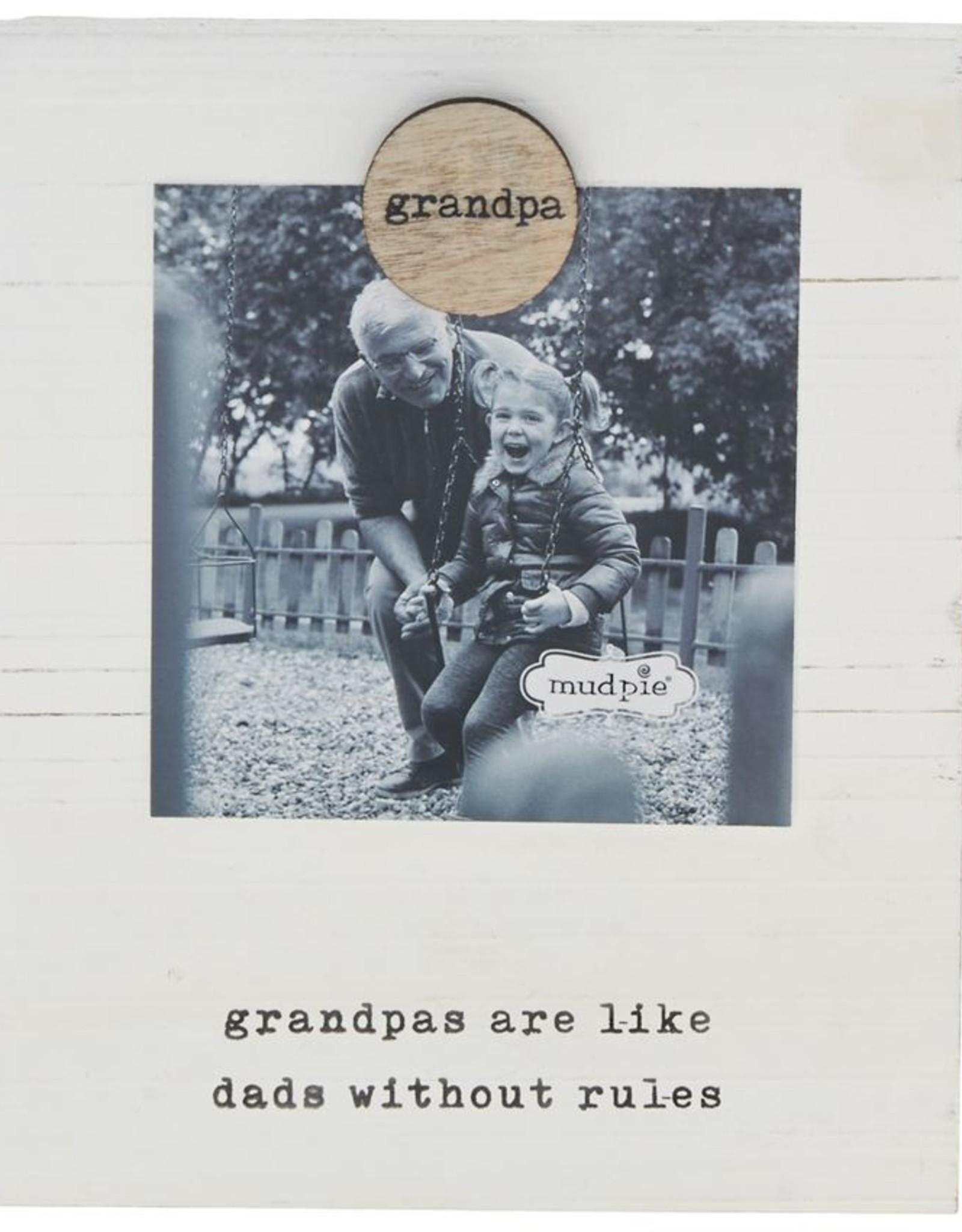 Mud Pie Grandpa Magnetic Frame