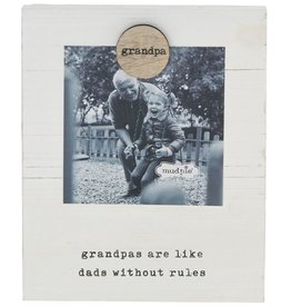 Mud Pie Grandpa Magnetic Frame