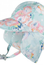 Baby Girl Legionnaire Sun Hat - Peony