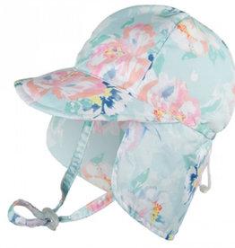 Millymook Baby Girl Legionnaire Sun Hat - Peony