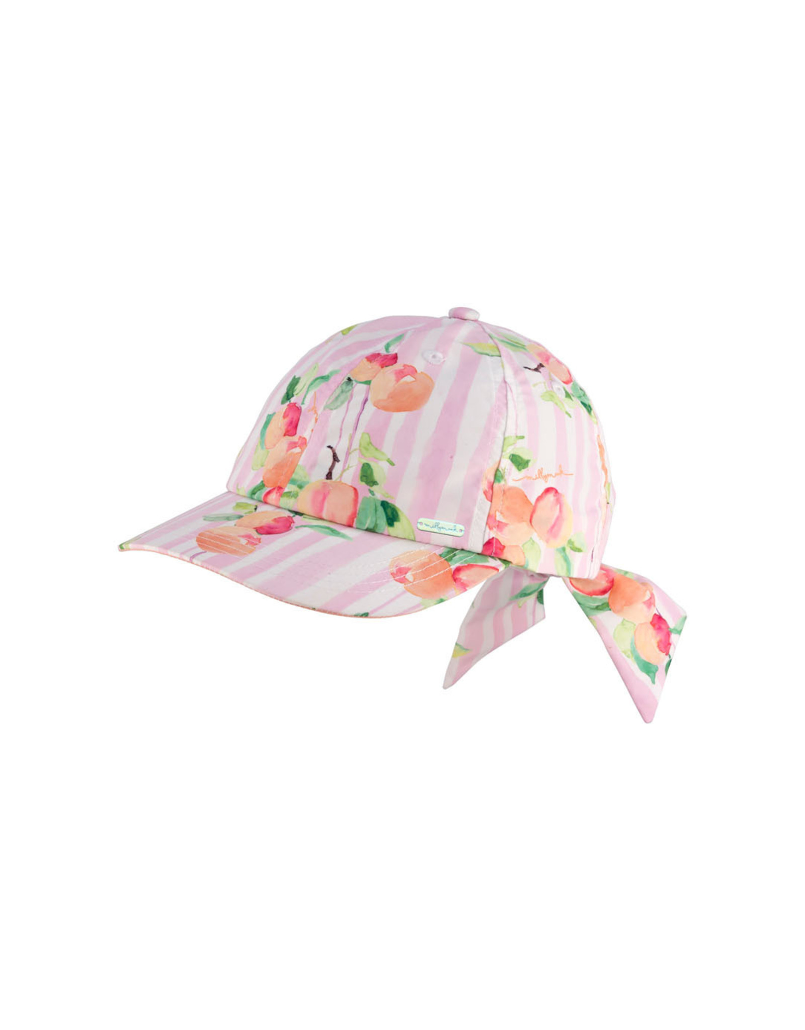 Girl's Bow Cap - Peachy