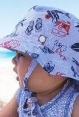 Baby Boy's Bucket Sun Hat 0-12 months