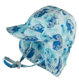 Baby Boy's Legionnaire Hat - Pufferfish