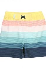 RuggedButts Island Stripe Swim Trunks