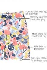 RuggedButts Tropical Flamingo Swim Trunks