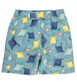 RuggedButts Starfish & Stingrays Swim Trunks