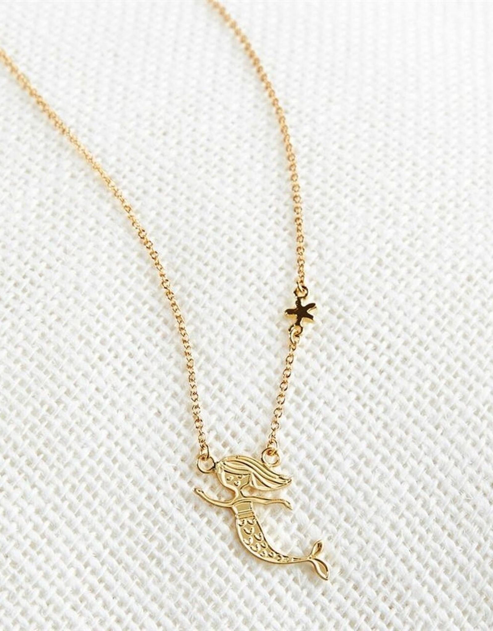 Mud Pie Mermaid Necklace