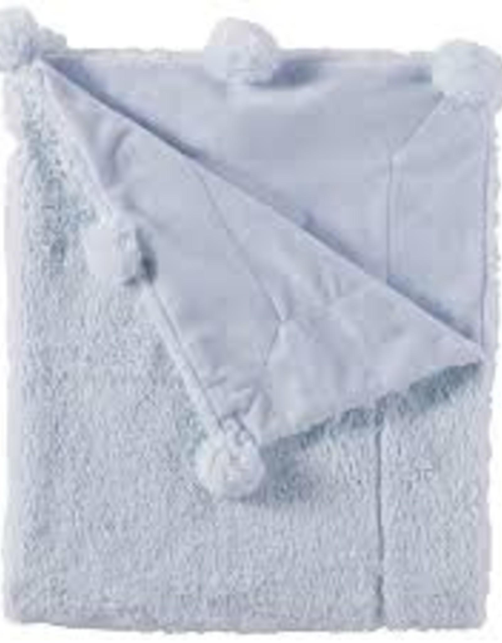 Mud Pie Pom Pom Blanket