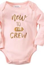 Mud Pie New to Crew Girl Crawler 0-6 months