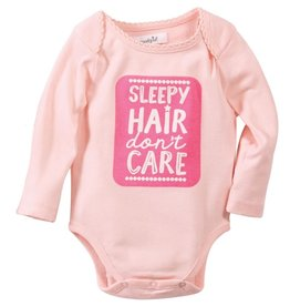 Mud Pie Sleepy Hair Girl Crawler 0-6 months